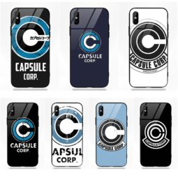 Capsule Corp Soft TPU Phone Cases for Apple iPhone 5 5C 5S SE 6 6S 7 8 Plus X XS Max XR