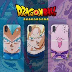 Dragon Ball Son GoKu God Vegeta Scrub Cases for iphone 7 8 plus 11 pro x xs max xr