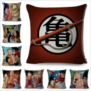 Classic Anime Dragon Ball Cushion Covers for Sofa Home Decor 45*45cm Pillowcases
