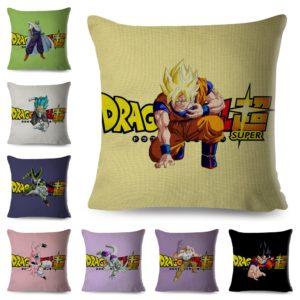 DBZ 45*45cm Cushion Covers Home Car Decor Dragon Ball Super Series