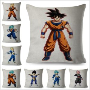 Dragon Ball Characters 45*45 cm Cushion Covers Home Decorative Pillowcases