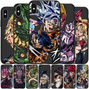 Luxury Dragon Ball Super Cases For iPhone X 5 5S 6 6S 7 8 Plus X XS Max