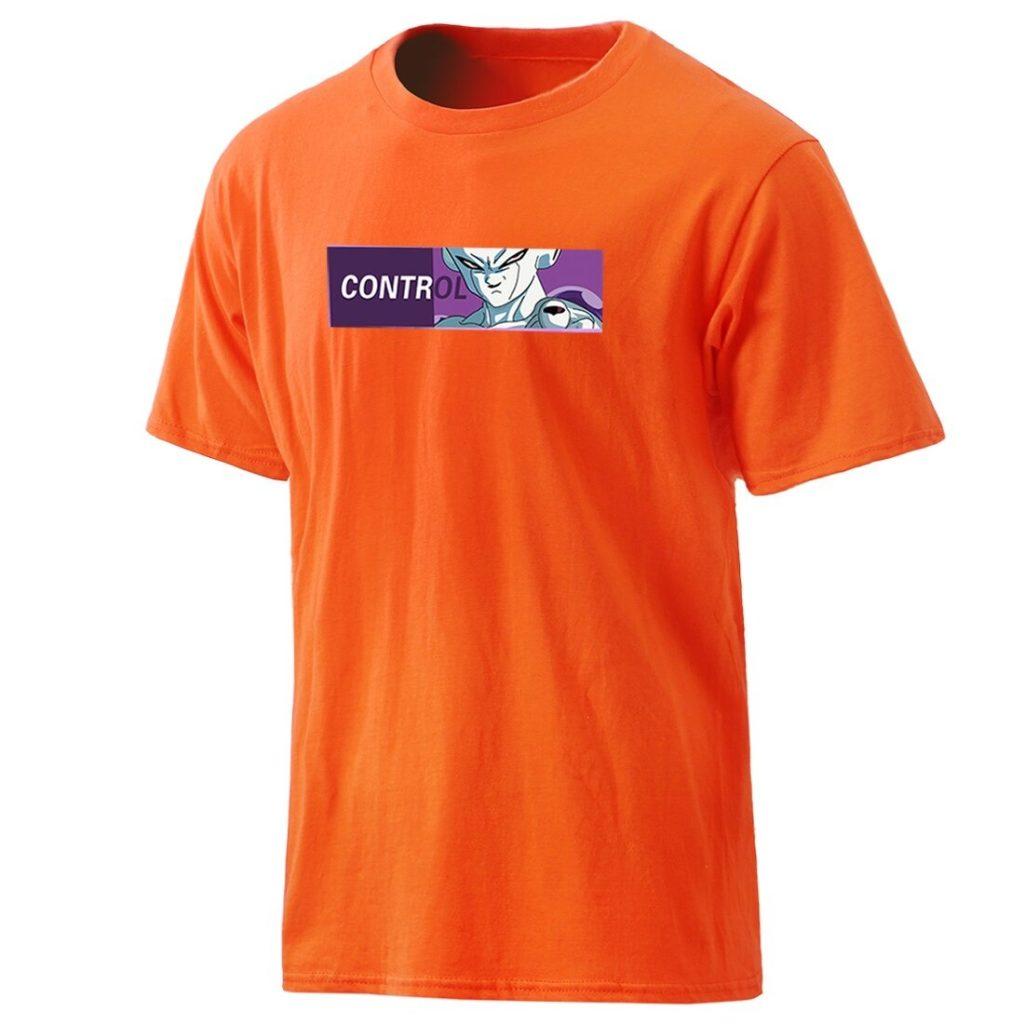 Dragon Ball Z Frieza CONTROL Casual Cotton T-Shirt
