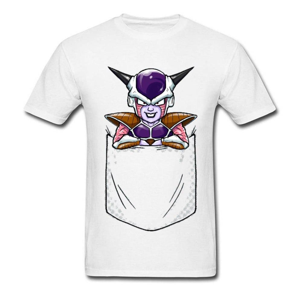 Dragon Ball Z Mini Evil Leader Frieza 100% Cotton O-Neck Tee Shirt