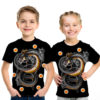 DBZ Anime Shenron and the Dragon Balls 3D Graphic Kids Casual Tee